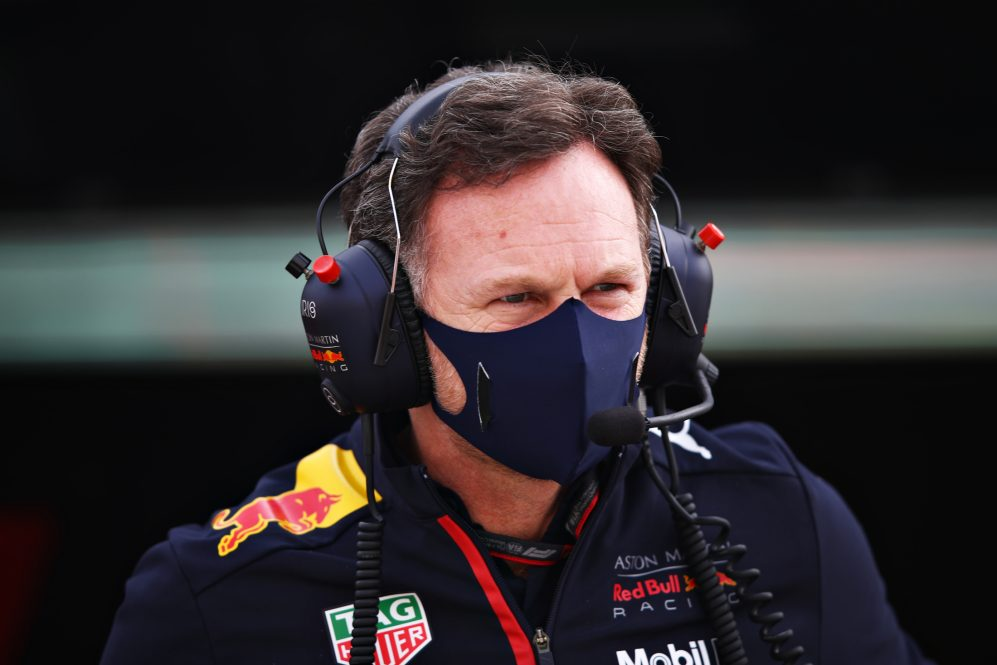 christian horner red bull racing honda