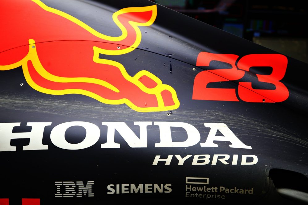 red bull racing honda