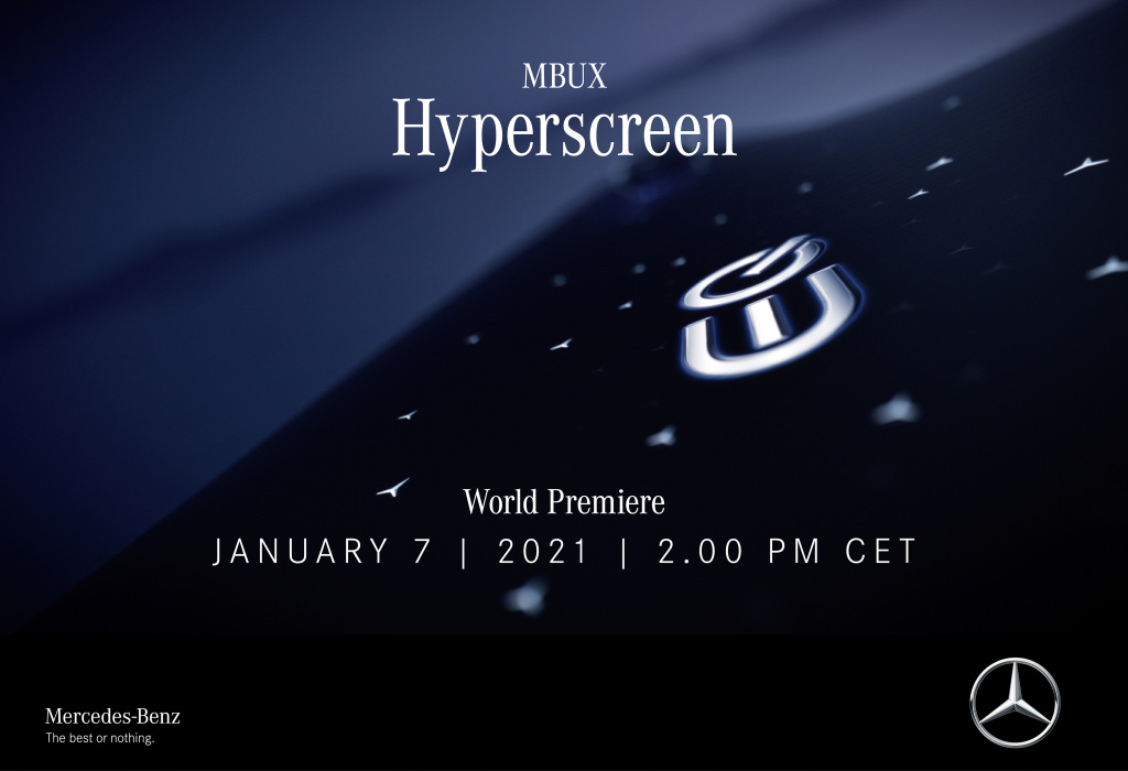 Starker Start ins neue Jahr: Mercedes-Benz präsentiert den MBUX HyperscreenAn impressive start to the new year: Mercedes-Benz unveils the MBUX Hyperscreen