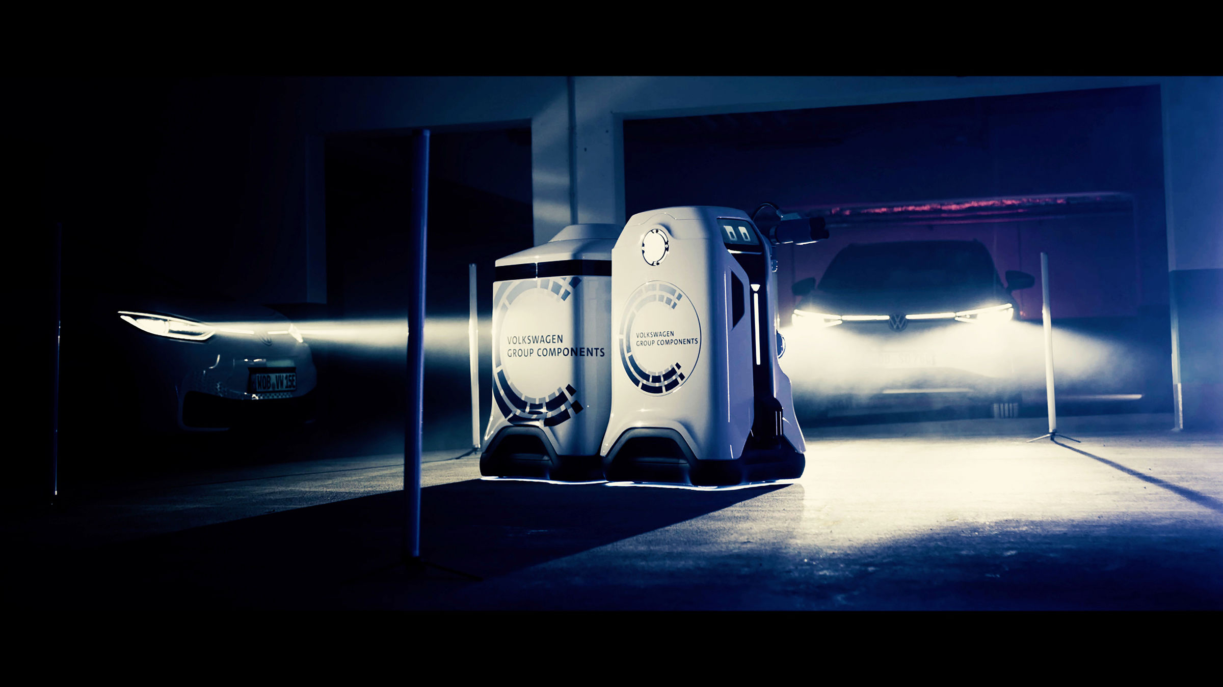 vw components group charging robot
