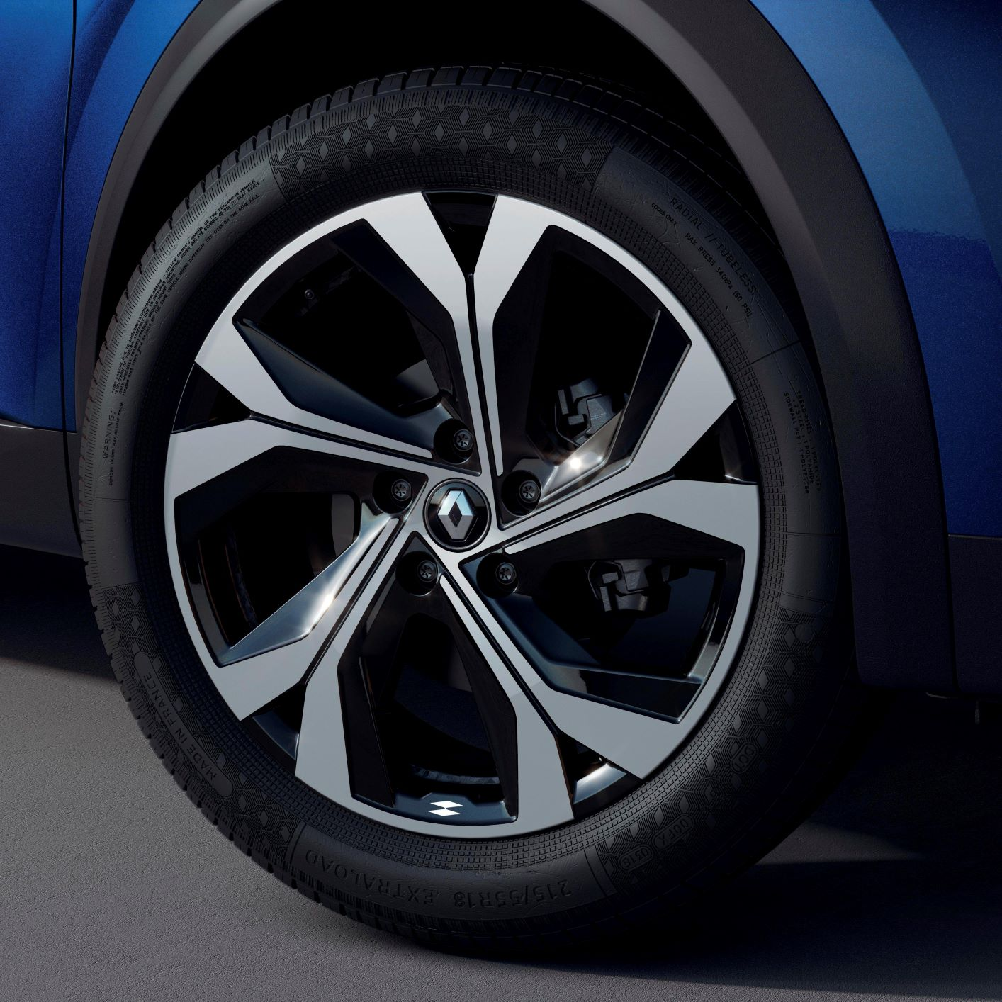renault captur 2021 rs line wheels jante