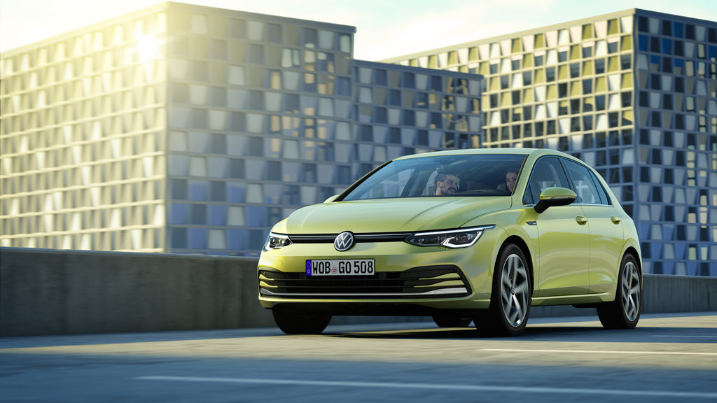 vw golf 8 sales europe 2020