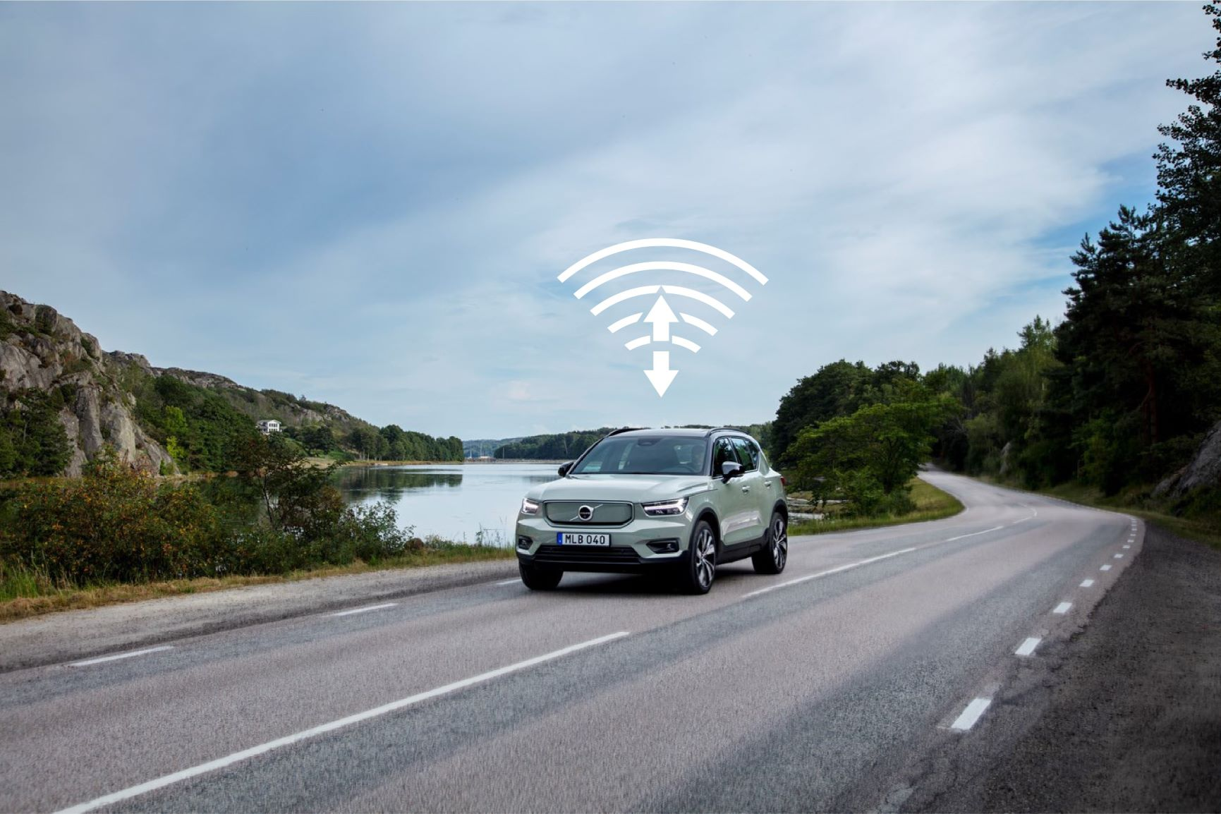 update over the air ota volvo xc40 recharge