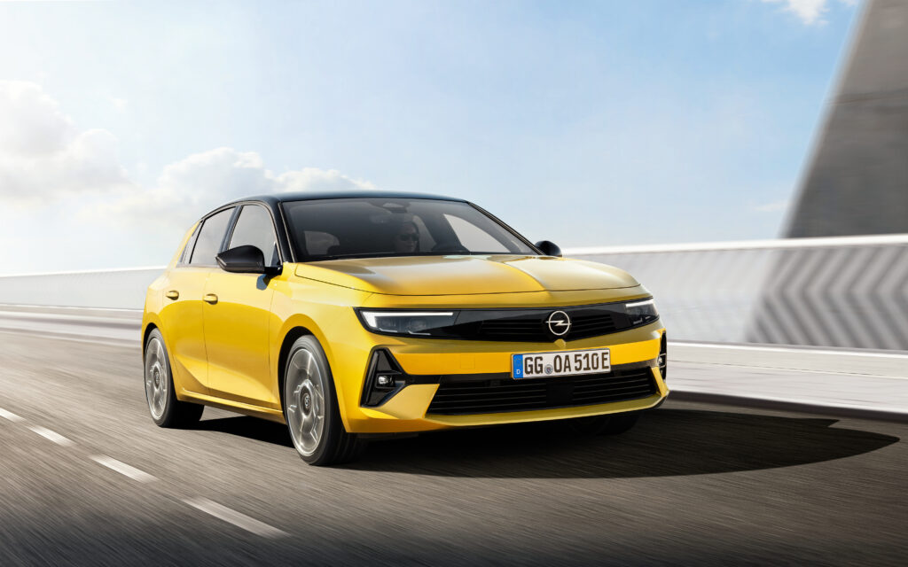 The new 2021 Opel Astra L 2